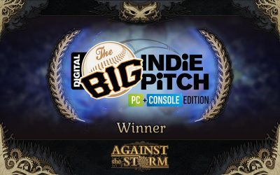 1st Place Prize at Big Indie Pitch